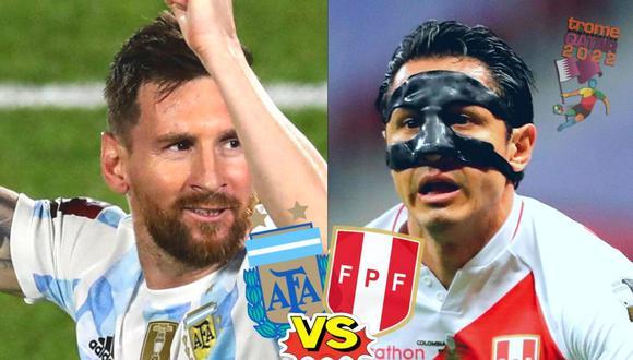 Argentina vs Perú EN VIVO por la fecha 12 de las eliminatorias (Foto: AFP)