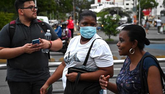 Ecuador reporta su caso número 14 de coronavirus COVID-19. (Foto: AFP/Referencial)