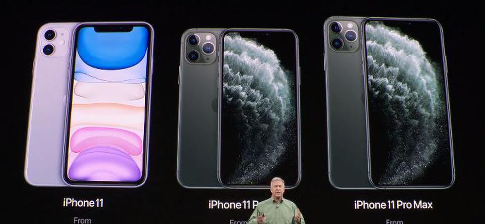 Apple presentó el iPhone 11, iPhone 11 Pro y iPhone Pro Max