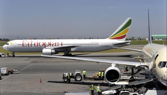 """""""Boeing está profundamente triste al enterarse de la muerte de los pasajeros y la tripulación en el vuelo 302 de Ethiopian Airlines..."""", dijo la compañía Boeing. (Foto: AFP)"""
