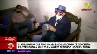 Clausuran bar que funcionaba bajo fachada de cevichería en Breña