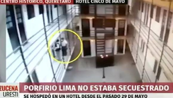 Porfirio Lima estaba en condición de desaparecido, pero las primeras investigaciones indican que todo el tiempo estuvo en un hotel con un nombre falso. (Foto: Twitter)