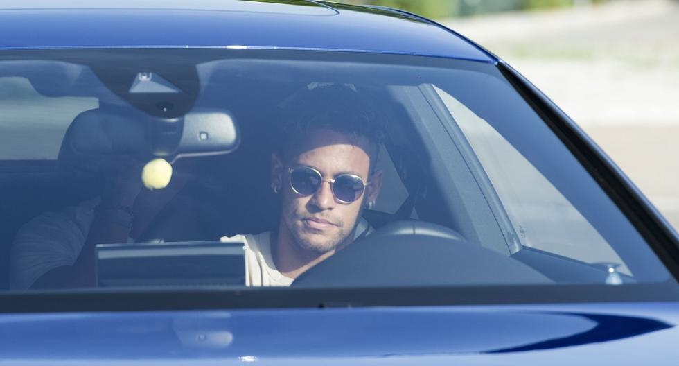 Neymar le dice adiós al Barcelona