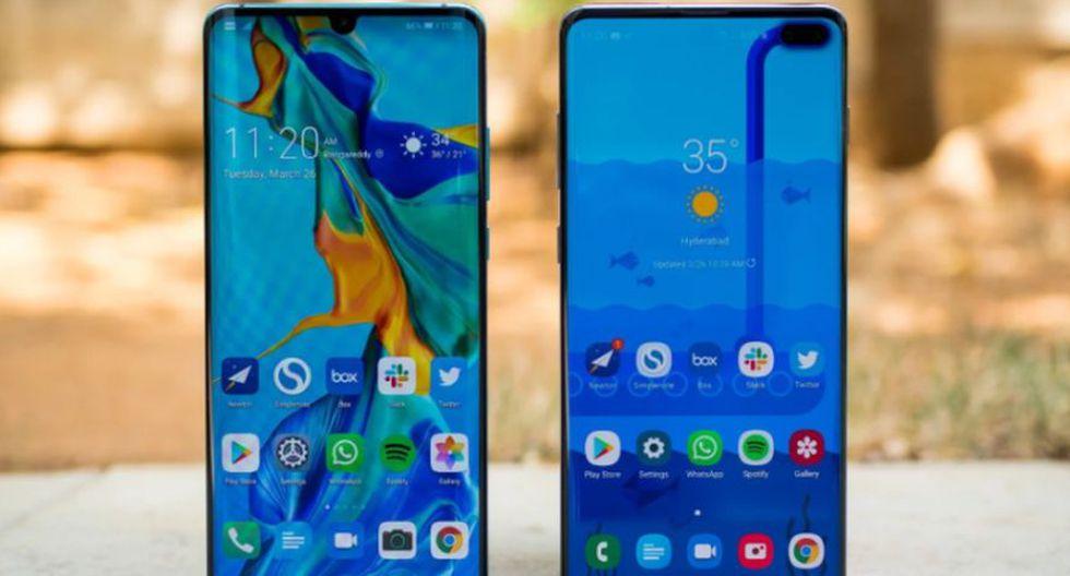 Huawei P30 Pro vs. el Samsung Galaxy S10+. ¿Qué los hace mejores que otros smartphones? (Foto: Android Central)