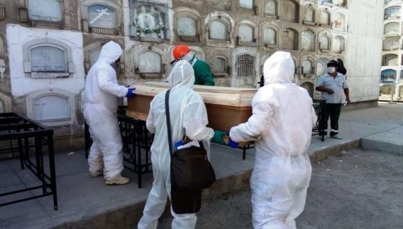 El número de personas fallecidas y contagios aumentó este sábado 4 de septiembre, informó el Minsa. (Foto: RAUL ARBOLEDA / AFP).