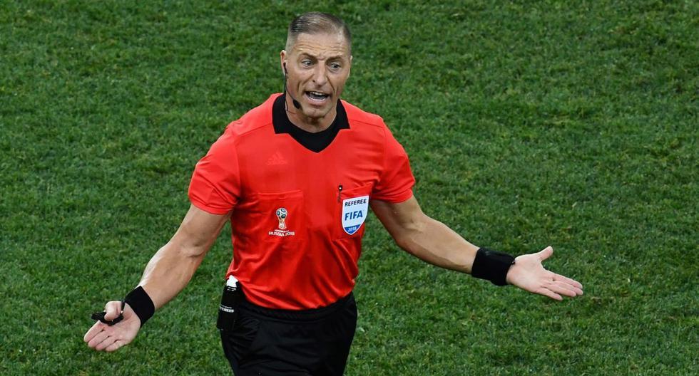 Francia vs Croacia: El argentino Néstor Pitana será el árbitro de la final del Mundial de Rusia 2018   FOTOS