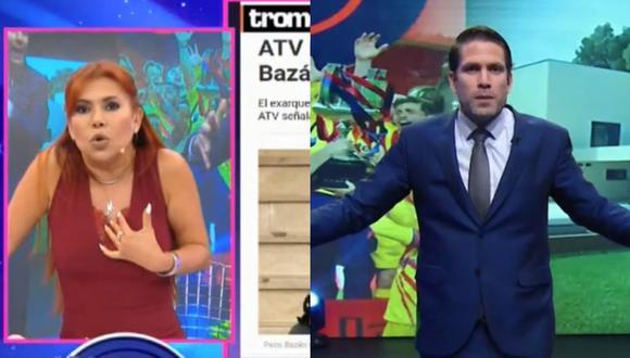 Magaly Medina se pronunció sobre los comentarios de Paco Bazán. (Captura Magaly TV, la Firme)