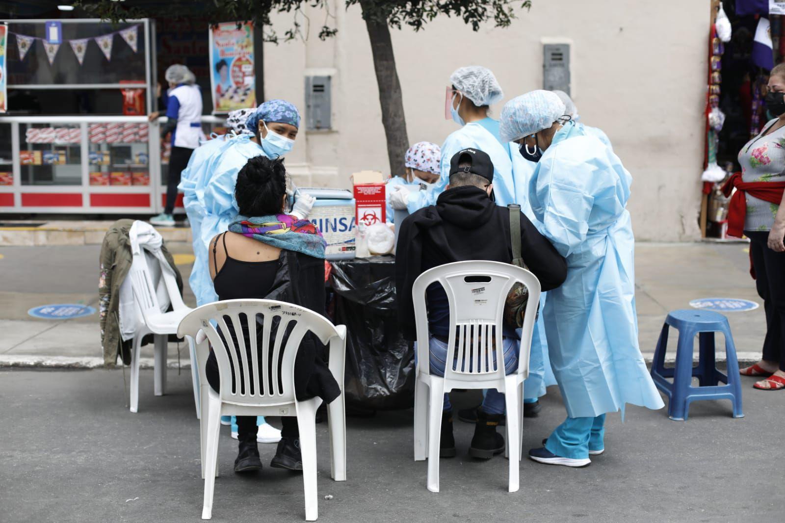 El sector Salud exhorta a la población a participar de las actividades del mes morado cumpliendo las medidas de prevención frente a la pandemia. Foto: César Bueno/@photo.gec