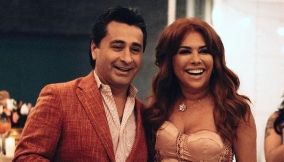 Magaly Medina y Alfredo Zambrano anunciaron su separación desde hace un mes. (Foto: Instagram @magalymedinav).