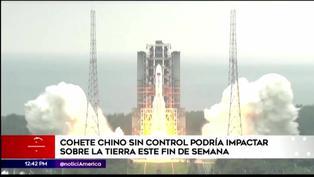 Cohete chino de 22 toneladas de peso podría caer sobre la tierra este fin de semana