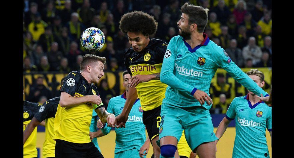 Barcelona vs. Borussia Dortmund por la primera fecha de la Champions League