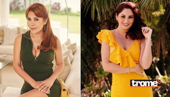 Magaly Medina arremete contra Aneth Acosta por ir a la notaría de su esposo