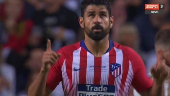 Gol 2 de Atlético Madrid a Real Madrid
