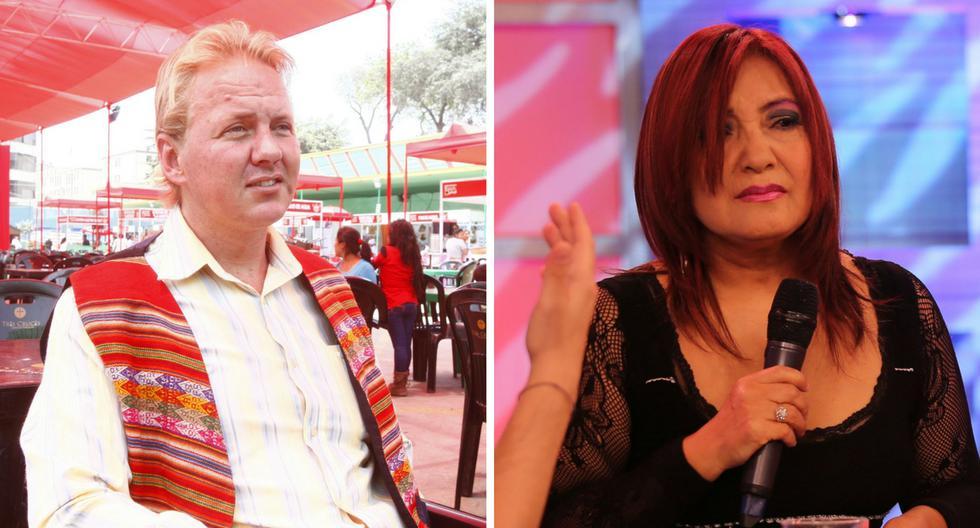 Flor de Huaraz y 'Gringo Karl' se enfrentan en 'Andrea':
