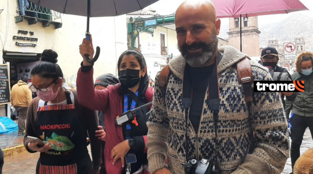 El primer día de rodaje de La Reina del Sur 3 en Cusco (Foto: Juan Sequeiros)