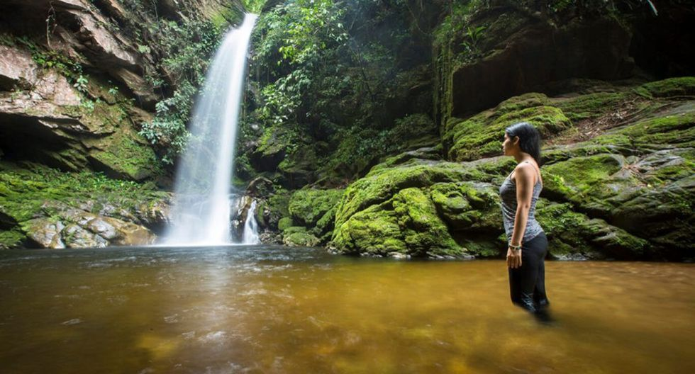 La catarata de Huacamaillo se encuentra en medio de la selva. (Foto: Tarapoto Tours)