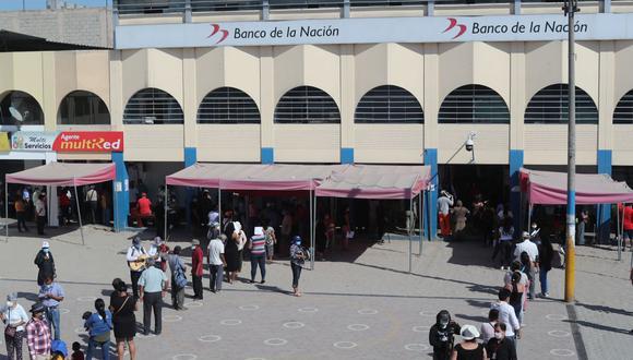 El Gobierno ya entrega el nuevo Bono 350 a miembros de familias vulnerables del país. (Foto: Lino Chipana / GEC).