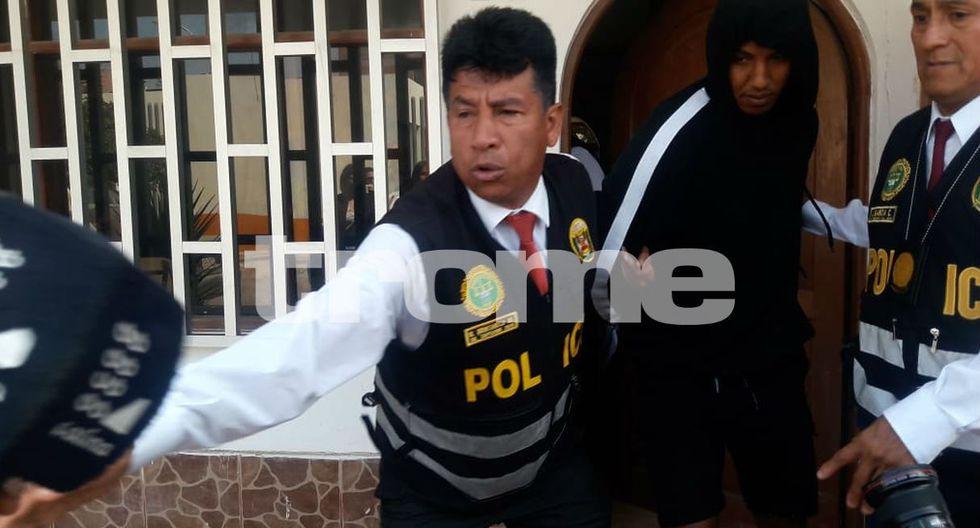 Trasladan a la Fiscalía a futbolistas Christian A. G. (25) y Josué R. M. (26) por caso de violación grupal en Lurín. Foto: Mónica Rochabrum
