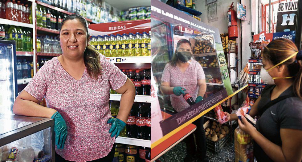 Yeni Ortiz vene sus productos todos los días en su bodega. (Fotos: César Campos)