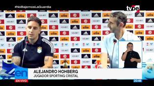 Así fue la presentación de Alejandro Hohberg en Sporting Cristal | VIDEO