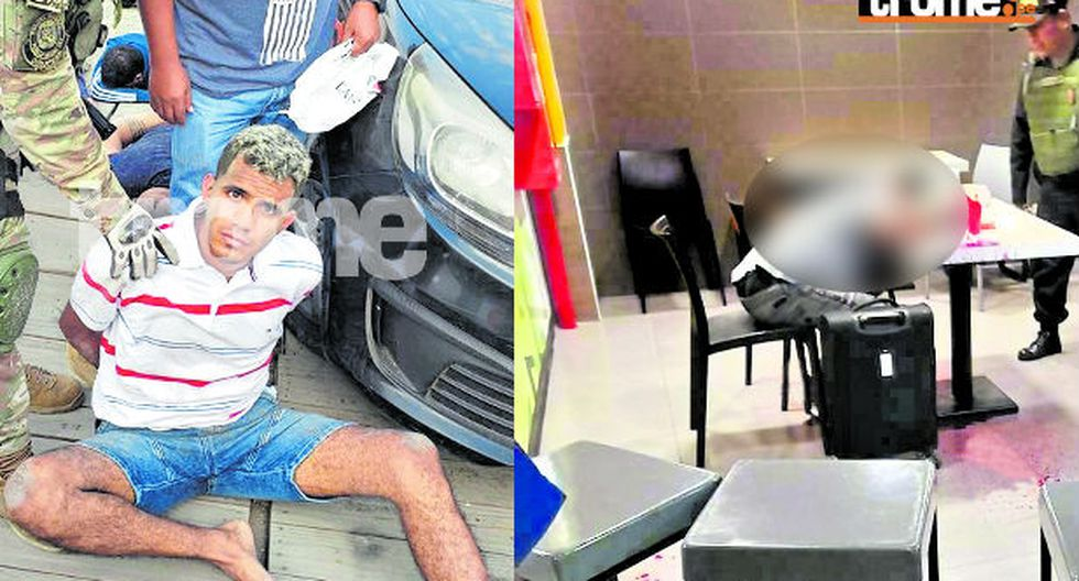 'Pinki' fue detenido en intervención en Punta Negra. (Fotos: GEC)