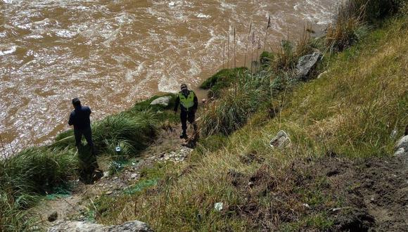 Junín: Madre de familia muere al ser arrastrada por corriente del Río Mantaro. (GEC)