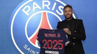 Neymar Jr. renueva con el París Saint-Germain hasta 2025