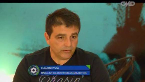 Claudio Vivas habló como si ya fuera técnico de Alianza Lima [VIDEO]