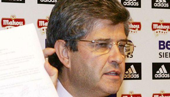 Fernando Martín fue presidente de Real Madrid en el 2006. (Foto: AFP)
