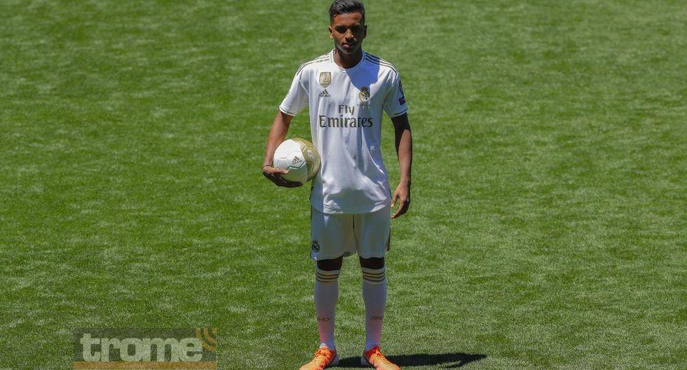 Rodrygo se unirá al primer equipo del Real Madrid desde la próxima temporada. (Foto: AFP)