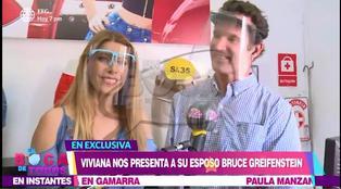 Viviana Rivasplata presentó a su esposo norteamericano Bruce Greifenstein     VIDEO