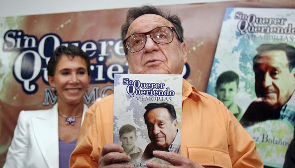 Serie sobre la vida de Roberto Gómez Bolaños se estrenará en 2021. (Foto: AFP)