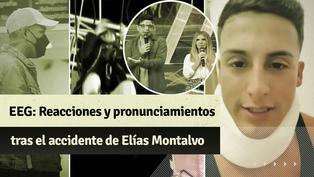 """""""Esto es guerra"""": reacciones tras el accidente de Elías Montalvo"""