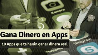 10 Apps que te dan dinero real