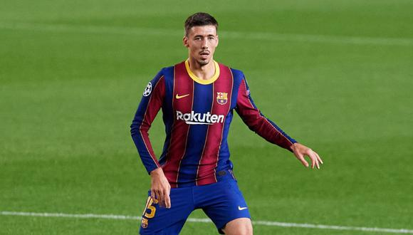 Clément Lenglet, defensa central de Barcelona