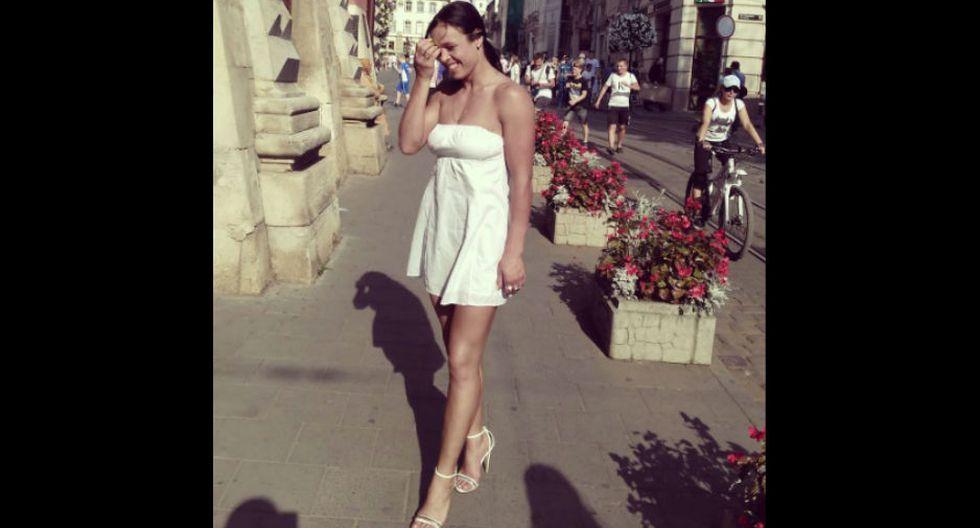 Ucraniana es tan hermosa como peligrosa. (Instagram Lena Ovchynnikova)