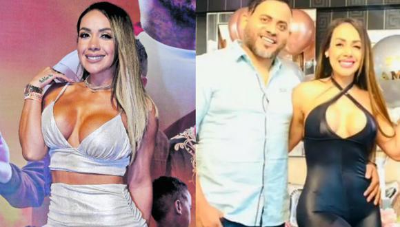 Dorita Orbegoso se casa por segunda vez con el padre de su hijo
