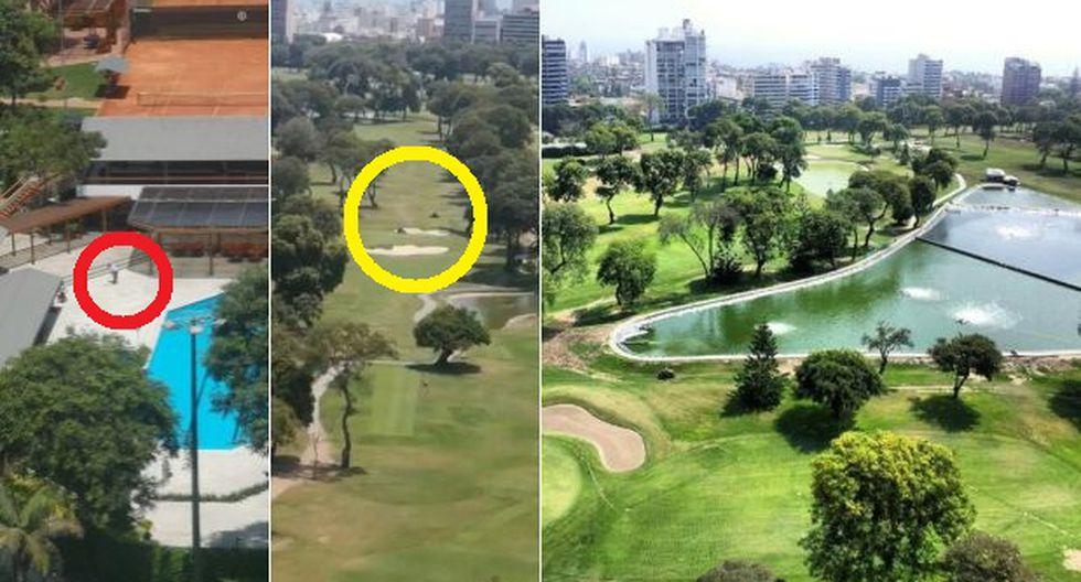 Coronavirus: Club El Golf de San Isidro obliga a trabajar a viejitos podando césped y limpiando piscina e incumple estado de emergencia