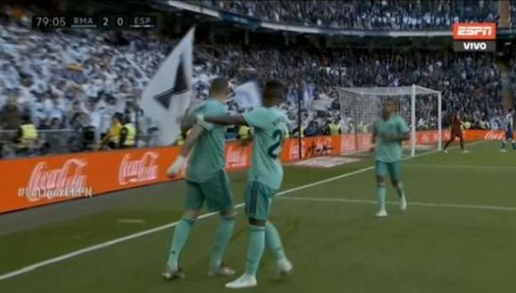 Es el gol número 15 de Karim Benzema en la temporada