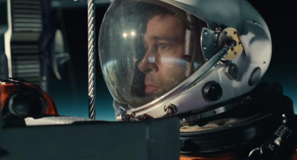 """""""Ad Astra: hacia las Estrellas"""" llegará a la cartelera peruana el 10 de octubre de 2019. (Captura de pantalla)"""