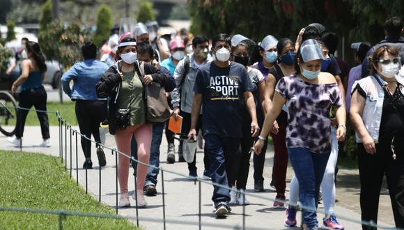 La cantidad de pacientes recuperados aumentó este sábado. (Foto: Jesús Saucedo / El Comercio)
