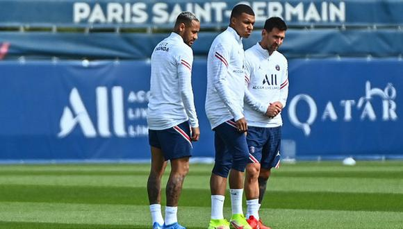 Kylian Mbappé llegó al PSG en 2017 desde el AS Mónaco. (Getty)