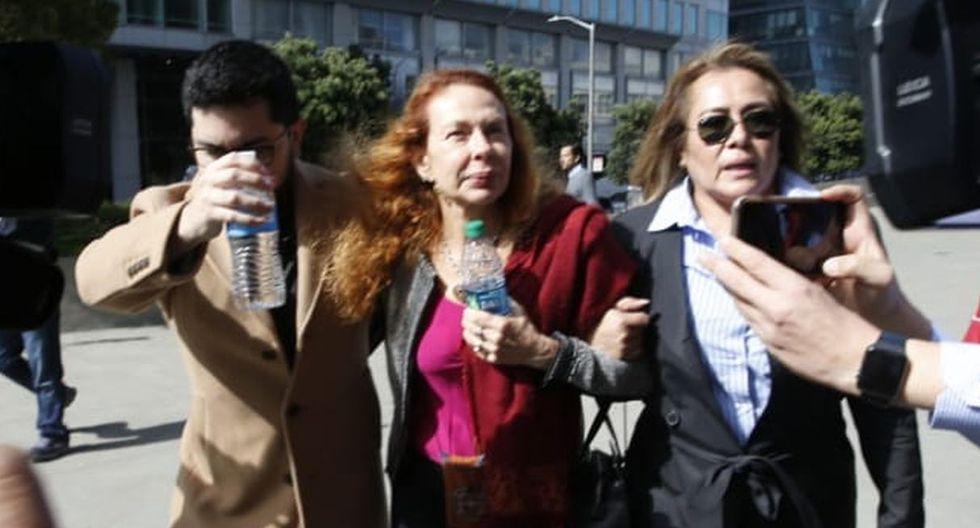 Eliane Karp insultó a Fiscal Vela en audiencia de Alejandro Toledo