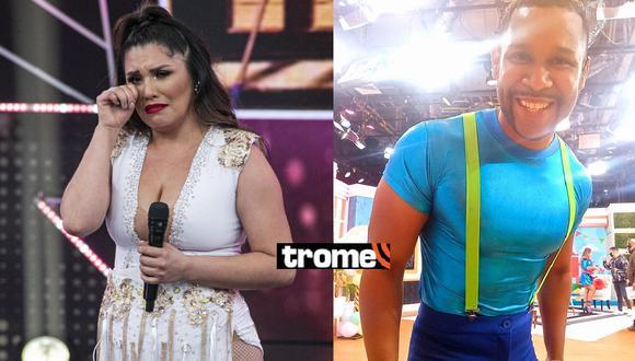 """Lady Guillén """"arremetió"""" contra Giselo tras ser eliminada de Reinas del Show. (Fotos: GV Producciones)"""