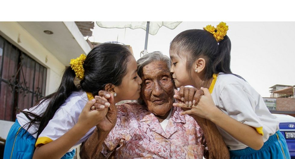 abuelita de 100 años