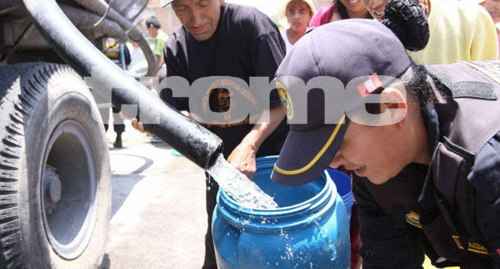 Huaico dejó sin agua a la población de Arequipa