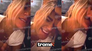 Macarena Vélez besa a su nuevo galán en video que publicó por error y luego borró de Instagram