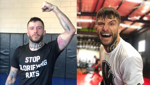 'El Pitbull' Marcelo Rojo debutará en el UFC. (Instagram)