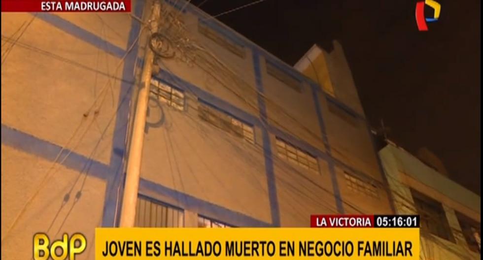 La policía investiga las causas del deceso de la víctima. (Foto captura: Panamericana)