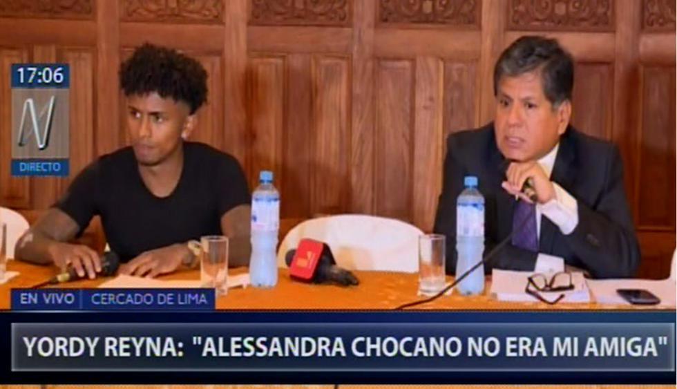 Yordy Reyna dijo todo esto ante la prensa sobre caso de la muerte de la joven voleibolista Alessandra Ch.